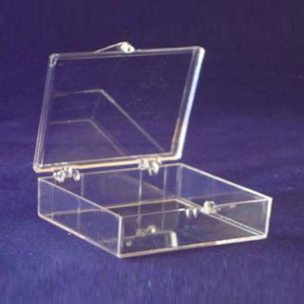 """10"""" Hinged Plastic Boxes"""